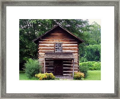 Keener Craft Cabin Framed Print by Chris Flees