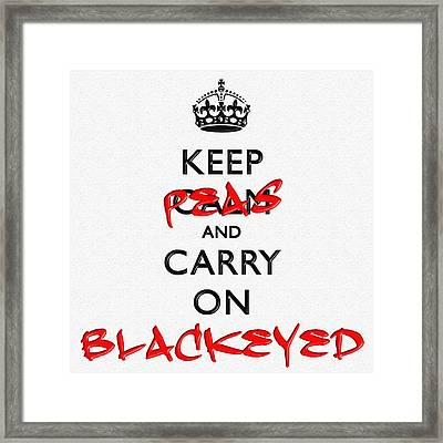 Keep Calm And Carry On 15 Framed Print by Aston Pershing