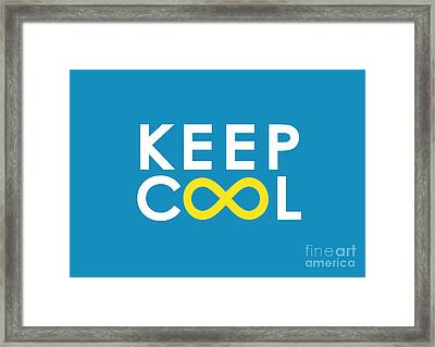 Keep Cool Forever Framed Print by Nava Seas