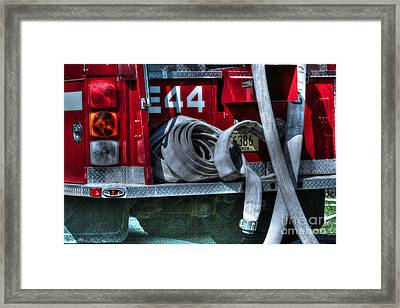 Keep Fire In Your Life No 11 Framed Print by Tommy Anderson