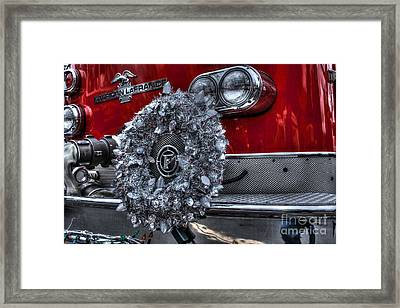 Keep Fire In Your Life No 13 Framed Print by Tommy Anderson