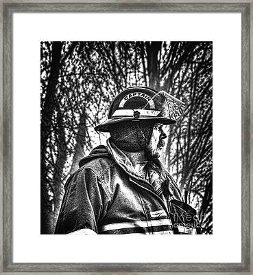 Keep Fire In Your Life No 3 Framed Print by Tommy Anderson