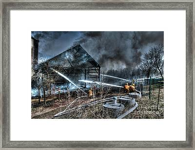 Keep Fire In Your Life No 9 Framed Print by Tommy Anderson