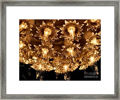 Keep Shining Framed Print by Rory Sagner