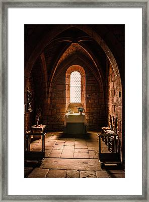 Framed Print featuring the photograph Keep The Faith by Thierry Bouriat