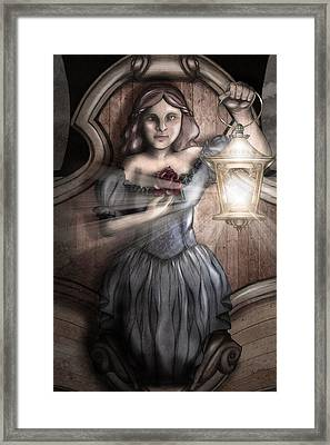 Keeper Of The Light Framed Print by April Moen