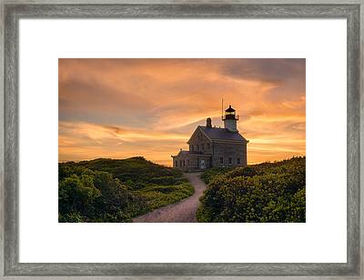 Keeper On The Hill Framed Print by Michael Blanchette