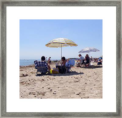 Keeping Up Appearances Framed Print by Terri Waters
