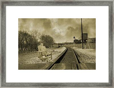 Keeping Watch  Framed Print by Betsy Knapp