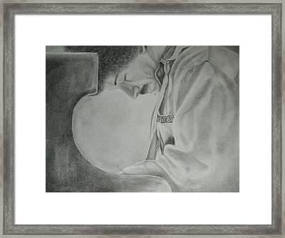 Keith Jarrett Framed Print by Cristina Sofineti