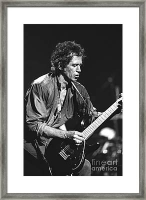 Keith Richards Framed Print by Concert Photos