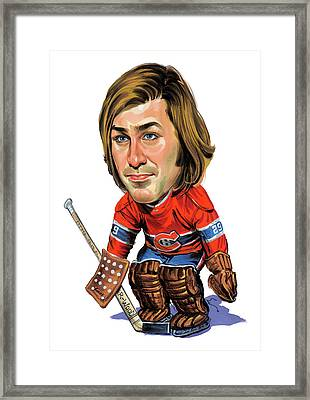 Ken Dryden Framed Print by Art