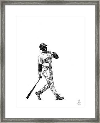 Ken Griffey Jr. Framed Print by Joshua Sooter