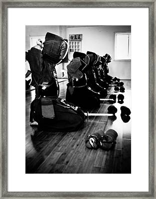 Kendo Framed Print by Edward Myers