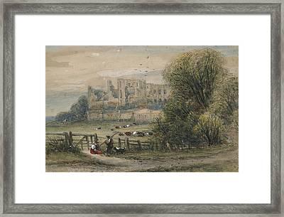 Kenilworth Framed Print by James Orrock