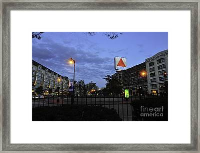 Kenmore Square  Framed Print by Catherine Reusch  Daley