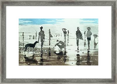 Kenneggy, Cornwall Framed Print by Lucy Willis