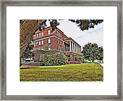 Kenosha Elks Club Framed Print by Kay Novy
