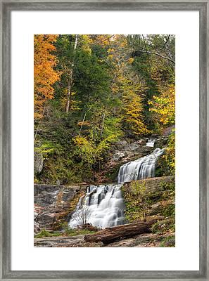 Kent Falls Autumn Framed Print by Bill Wakeley