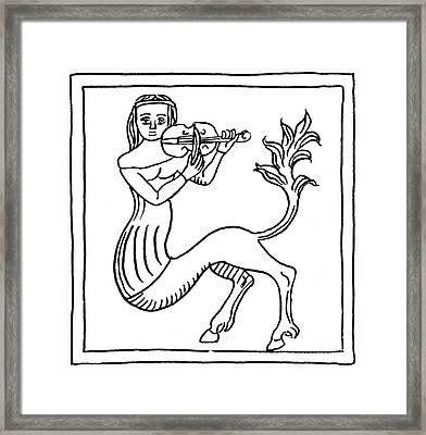 Kentauride, Legendary Creature Framed Print by Photo Researchers