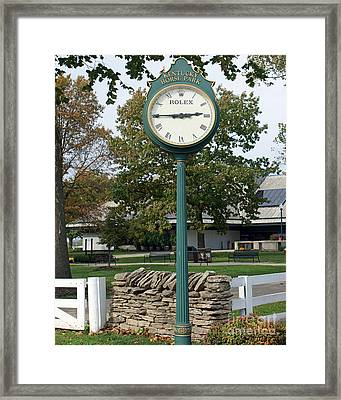 Kentucky Horse Park Framed Print by Roger Potts