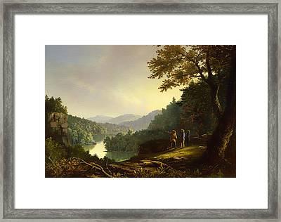 Kentucky Landscape 1832 Framed Print by Mountain Dreams