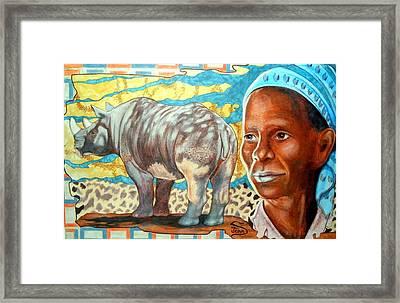 Kenya Dreams Framed Print by Jamie Jonas