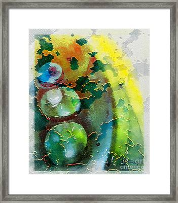 Kernodle On The Half Shell Framed Print by Bellesouth Studio