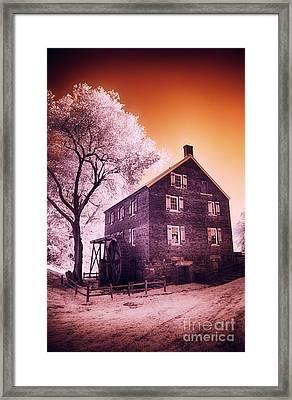 Kerr Mill Framed Print by Dan Carmichael