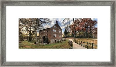Kerr Mill Panorama Framed Print by Adam Jewell