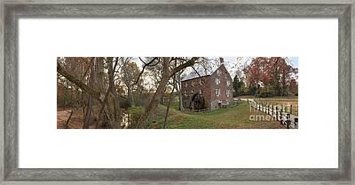 Kerr Mill Panorama Landscape Framed Print by Adam Jewell
