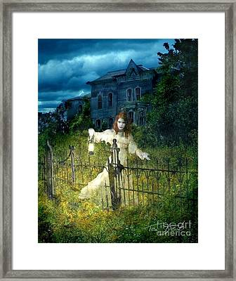 Kerzner Manor Framed Print by Tom Straub