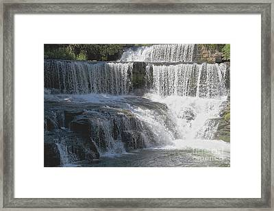 Keuka Seneca Waterfall Framed Print by William Norton