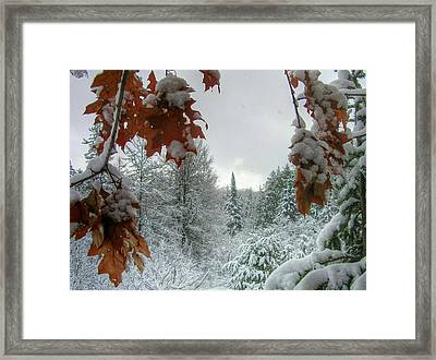 Keweenaw Silence Framed Print by Scott Wendt Tom Wierciak