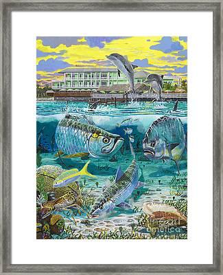 Key Largo Grand Slam Framed Print by Carey Chen