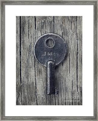 Key To... Framed Print by Priska Wettstein