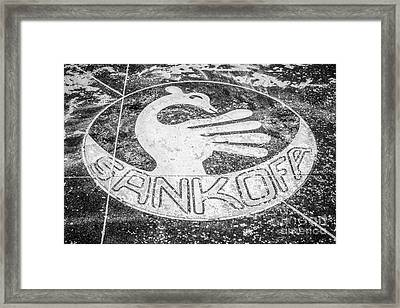 Key West African Cemetery 5 - Key West - Black And White Framed Print by Ian Monk
