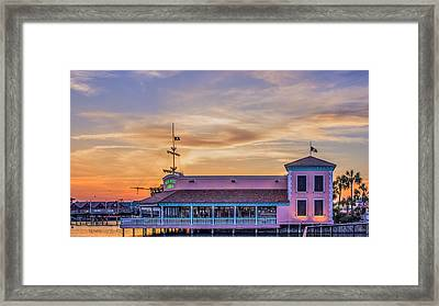 Key West Grill Framed Print by Rob Sellers