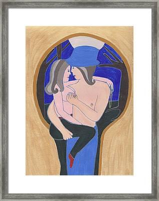 Keyhole Framed Print by Barbara St Jean