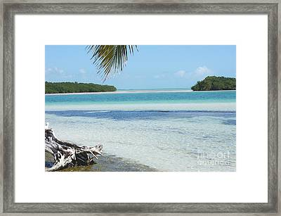 Key's Escape Framed Print by Rex E Ater