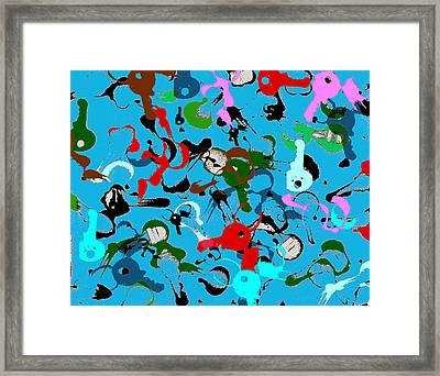 Keys To Success Framed Print by Jame Hayes
