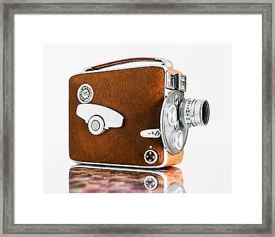 Keystone 8mm Camera Framed Print by Jon Woodhams