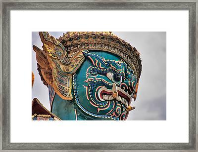 Khmer Guard Framed Print by Adam Romanowicz
