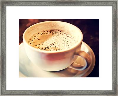 Kick Starter Framed Print by Scott Norris