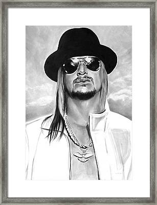 Kid Rock Framed Print by Brian Curran