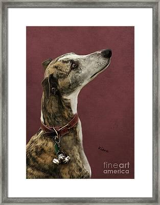 Kiera Framed Print by Linsey Williams