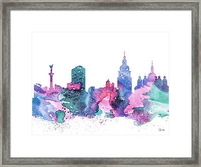 Kiev Framed Print by Luke and Slavi