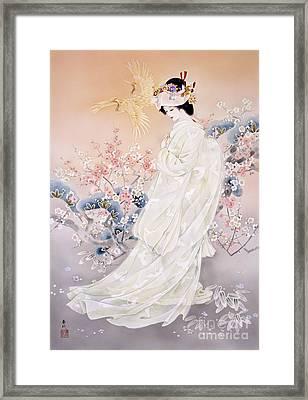Kihaku Framed Print by Haruyo Morita