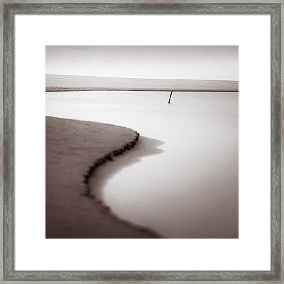 Kijkduin Beach Framed Print by Dave Bowman