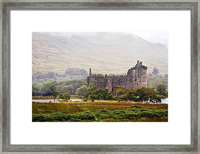 Kilchurn Castle Framed Print by Marcia Colelli